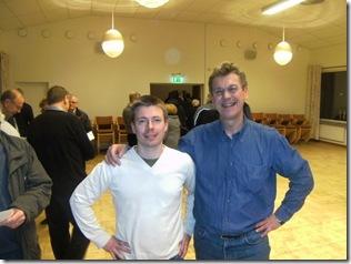 Mattias och Ted  17 mars 001